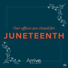In observance of #Juneteenth, our corporate and community offices will be closed across the US.  This will be a day for our team members to educate, connect, reflect on, and celebrate the significance of this moment in Black history and we encourage all of you to do the same.