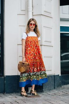 The New Way To Wear Your Midi Dress