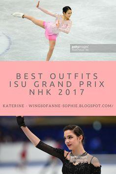Las Alas de Anne-Sophie: ISU Grand Prix NHK Trophy 2017 ~ Best Outfits Satoko Miyahara Evgenia Medvedeva