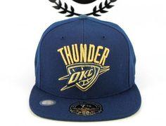 Oklahoma City Thunder Fitted Baseball Cap by MITCHELL & NESS x NBA