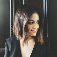 How gorgeous does Lucy Hale look here?