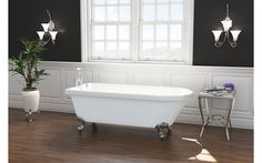 Traditional Freestanding Bath Victorian Bathroom Roll Top Double Ended 1700 1800 Traditional Baths, Traditional Bathroom, Traditional Design, Classic Bathroom Furniture, Double Ended Bath, Timeless Bathroom, Bathroom Showrooms, Roll Top Bath, Victorian Bathroom
