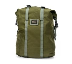 bfc533f013 Roll Up Backpack - Olive Drab. MIS ONLINE SHOP