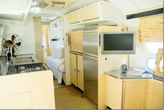 Remodeled 1970s airstream