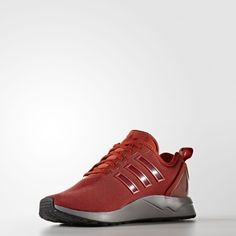 separation shoes 273d0 d740b Step Out In Style Adidas ZX Flux ADV Fire Red Sneakers NO.S76550