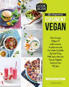 Les Blogueuses Cuisinent Vegan - Couverture - Géraldine Olivo et Myriam Gauthier-Moreau