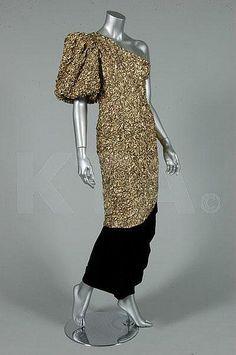 Dress Yves Saint Laurent, 1980s Kerry Taylor Auctions