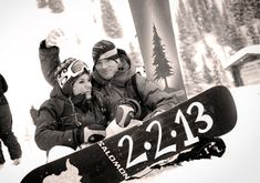 Snowboarding Engagement Shoot So cute... I may have to do this somehow...