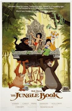 The Jungle Book Disney Movie Poster