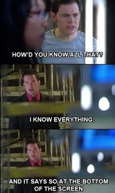 Don't question Ianto. He knows everything