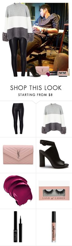 """Calum Hood #24"" by ambere3love34 ❤ liked on Polyvore featuring Venus, MANGO, Yves Saint Laurent, Giorgio Armani, NYX and Stila"