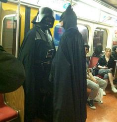 The Dark Side vs. The Dark Knight