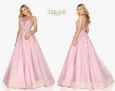 TERANI COUTURE 2012P1411 authentic dress. FREE FEDEX. BEST PRICE   eBay Terani Couture, Prom Dresses, Formal Dresses, Formal Prom, Women Brands, Couture Fashion, Ball Gowns, Tulle, Pretty