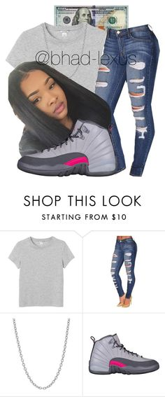 """""""strive for greater """" by bhad-lexus ❤ liked on Polyvore featuring Monki and Sterling Essentials"""