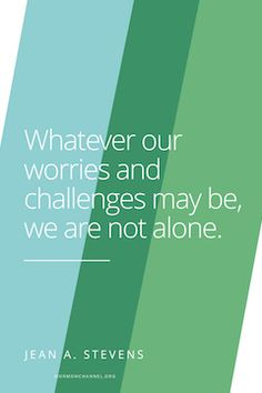 Whatever Our Challenges