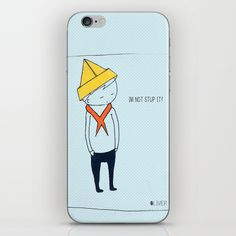 Im not #Stupid #iPhone & #iPod #Skin #illustration