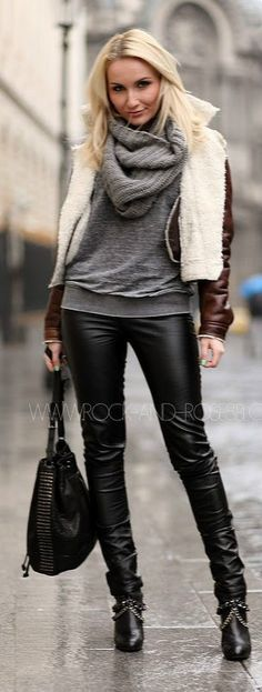 i want leather pants in the worst way!!