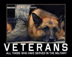 Thank you to all our four-legged troops!