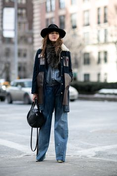 New York: les plus beaux looks street style | Femina