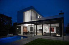 Maison moderne et victorienne à Melbourne