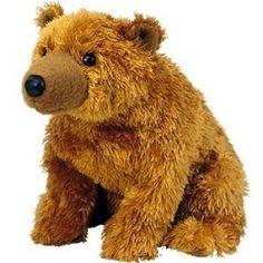 Amazon.com  TY Beanie Baby - SEQUOIA the Bear  Toys   Games fecef945a68b