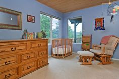 Find this home on Realtor.com  #baby #nursery #blue