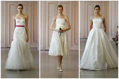 9 Brand-New Wedding Dresses From Your Favorite Red Carpet Designers