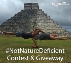 Time for a pre-summer giveaway! And in celebration of 23k amazing followers  To win a free pair of custom minimalist sandals all you need to do is post a picture doing an activity barefoot (OR wearing your Earth Runners) in nature and hashtag it #NotNatureDeficient. Winner will be chosen at random and will be announced Sunday evening. Can't wait to see what our tribe gets into! #optoutside