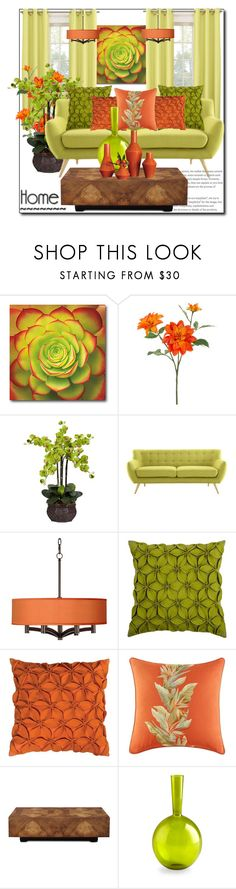 """""""Home & Design: Spring Style 2017"""" by helenaymangual ❤ liked on Polyvore featuring interior, interiors, interior design, home, home decor, interior decorating, Courtside Market, John Lewis, Nearly Natural and Modway"""