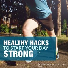 Healthy Hacks To Start Your Day Strong Healthy Habits, Healthy Tips, Non Processed Foods, Testosterone Hormone, Outdoor Gym, Smoothie Ingredients, Sore Muscles, Natural Health, Health Benefits