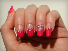 Ida-Marian kynnet / My engagement/Valentine's Day nail art  / #Nails #Nailart