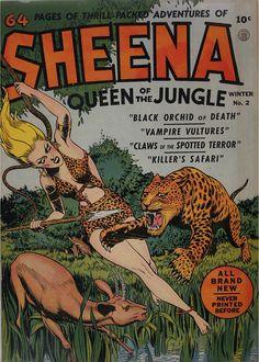 Sheena #2 Winter, 1942
