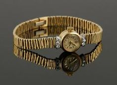 Ladies 14K Wristwatch The Estate of Mary L. Alchian of Palm Springs, CA | Kaminski Auctions 1/18/15