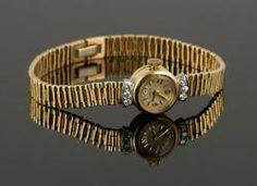 Ladies 14K Wristwatch The Estate of Mary L. Alchian of Palm Springs, CA   Kaminski Auctions 1/18/15