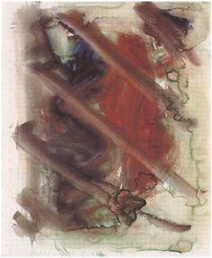 Gerhard Richter, Sans titre, aquarelle (28.12.1977). Kunstmuseen Krefeld, Krefeld, Germany. http://www.gerhard-richter.com/art/watercolours/detail.php?paintid=13868#
