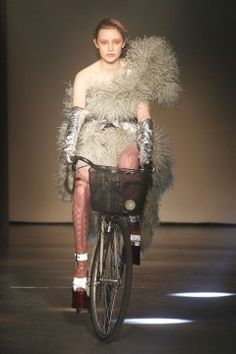 On your bike! Taking a ride down the Vivienne Westwood Gold Label AW12 catwalk!