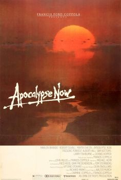 Apocalypse Now USA Francis Ford Coppola 1979 - original vintage film poster by Bob Peak for the Francis Ford Coppola movie set during the Vietnam War - Apocalypse Now - starring Martin Sheen, Marlon Brando and Robert Duvall listed on AntikBar.co.uk