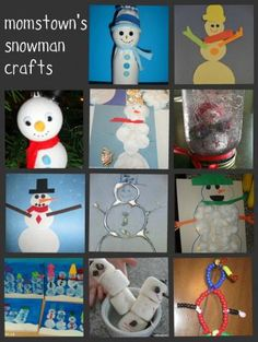 Winter Posts from Momstown Arts and Crafts