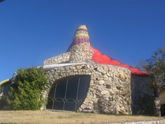 Another crazy house in Lubbock, Texas.