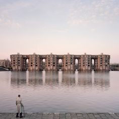 "Photo essay: French photographer Laurent Kronental has spent four years capturing the ""grands ensembles"" housing projects in Paris, juxtaposing the huge buildings with their elderly occupants (+ slideshow). For his Souvenir d'un Futur series, Kronental has photographed residents of estates including Ricardo Bofill's Postmodern Les Espaces d'Abraxas at Noisy-le-Grand and Emile Aillaud's Cité Pablo Picasso More"