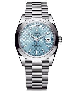 Day-Date 40: la nueva generación de #Rolex. Un nuevo #reloj de pulsera que reinventa el estatus de 'cronómetro superlativo' establecido por la propia firma a finales de la década de 1950. Es una #joya versátil y simbólica.