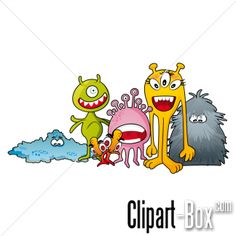 CLIPART MONSTERS