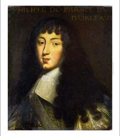 FRENCH SCHOOL Portrait Duc D Orleans PRINT ON CANVAS various SIZES available