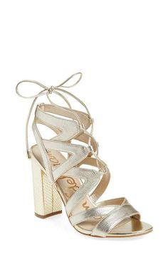 32e1587d221e Sam Edelman  Yardley  Lace-Up Sandal (Women) Lace Up Sandals