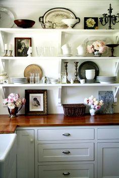 Kitchen with beautiful Storage