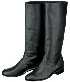 Male «Russian» boots, leather