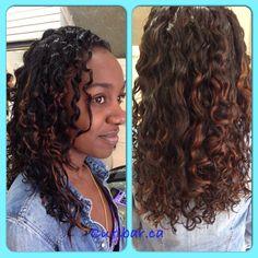 Curls popping after Deva cut and hydration www.curlbar.ca