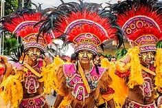 The colourful warriors of Dinagyang Festival