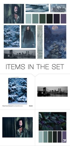 """""""Winter Aesthetic: Sirius Black"""" by evil-queen-of-isolation ❤ liked on Polyvore featuring art, FandomBattleBonus and aleenahtopart"""