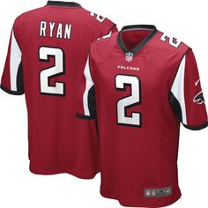 Nike Men's Matt Ryan Jersey — Home Game Atlanta , Size: Large, Team